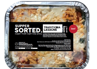 The YUM Supper Sorted dinner range.